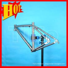 "Titanium MTB Bike Light Frame 1.3-1.5kg 26"" 48--58mm"