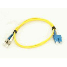 SC-ST Cordon de raccordement à fibre optique duplex mono mode 1 Mètre