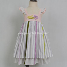 Summer Dress Striped Beach Party Kids Girl Dress