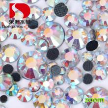 Lead Free Brilliant Cut Flat Back Hotfix Rhinestone for Wedding Dress Trim&Beads
