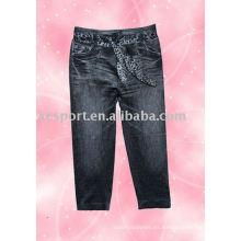 Pantalones de impresión suave para mujer