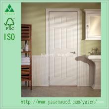 White Primed Interior Composite Wooden Door