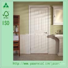 Porta de madeira composta interior aprontada branca