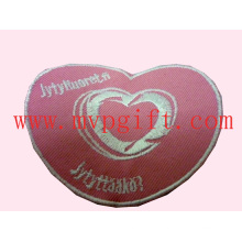 Heart Embroidery Patch, Fabric Wovern Patch (m-EP03)