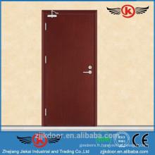 Conception de porte de sécurité JK-FW9102 avec grillage / conception de porte en bois au Pakistan
