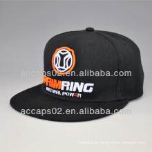 Chapéus snapback logotipo 3D da fábrica