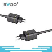 El cargador de pared de enchufe más nuevo de 5V2A EU con cable