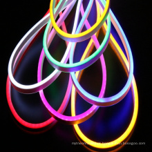 O diodo emissor de luz do cabo descasca a tira de néon conduzida exterior da luz de néon 2835 120leds 220v para a decoração
