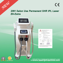 2 en 1 IPL Eligt Q-Switch ND Yaghair Removal Machine