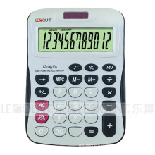 12 Digits Solar Power Desk Calculator with Large Room for Logo Printing (LC257-12D)