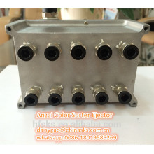 Aluminum Air Ejector For Anzai Color Sorting Machinery