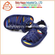 Vente en gros mignons enfants sandales coton chaussures bébé jolie enfant jolie chaussures