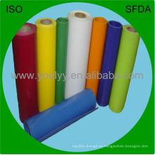 Película coloreada del PVC