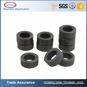 Diametrically magnetized ferrite ring magnets