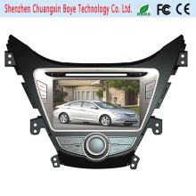 Lecteur DVD de voiture compatible Bluetooth pour Hyundai Elantra 2012