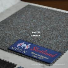 Woven in England shetland wool fabric for overcoats