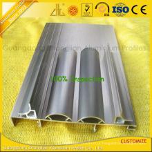 Escovar perfis de extrusão de alumínio para guarnição de canto de alumínio