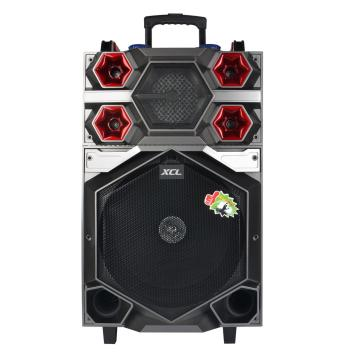 Line array active speaker avec batterie rechargeable