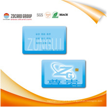 Impreso en fábrica Cr80 30mil PVC Cards