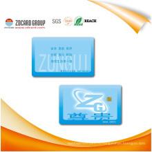 Фабрики напечатанная Cr80 30mil ПВХ карты