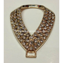 Versatile Alloy Rhinestone Buckle for Clothes, Shoes,Bags,Garments