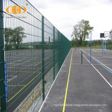 6/5/6 double wire fence panel double frame fence 868 welded metal fence