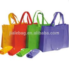 Nouveau sac à provisions réutilisable pliable durable