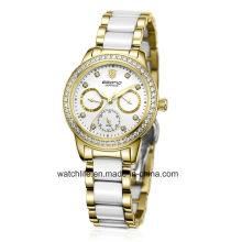 New Fashion Diamond Stainless Steel Ladies Watch