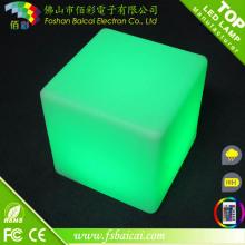 16 cores mudando partido festa bar mobiliário LED cubo