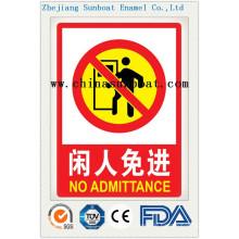 Emaille Customized Sicherheitswarnzeichen