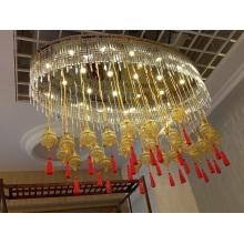 Hotel Glass Crystal Decoration Lighting (KA0522)