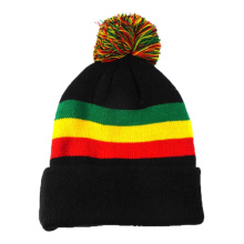 Black Knitted Women Winter Hat