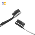 Bamboo Charcoal Black Bristle Toothbrush