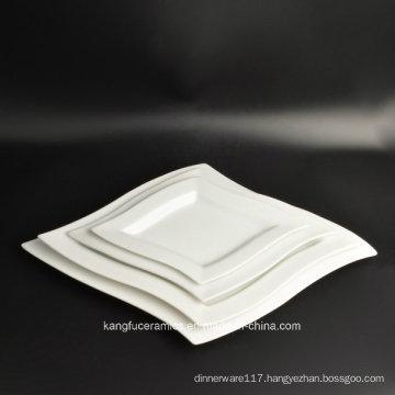 Heat Resistant 4PCS Set Porcelain Dinner Plate