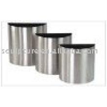 stainless steel abstract garden flowerpot
