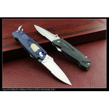 """7.5"""" Folding Knife with Light and Opener (SE-138)"""