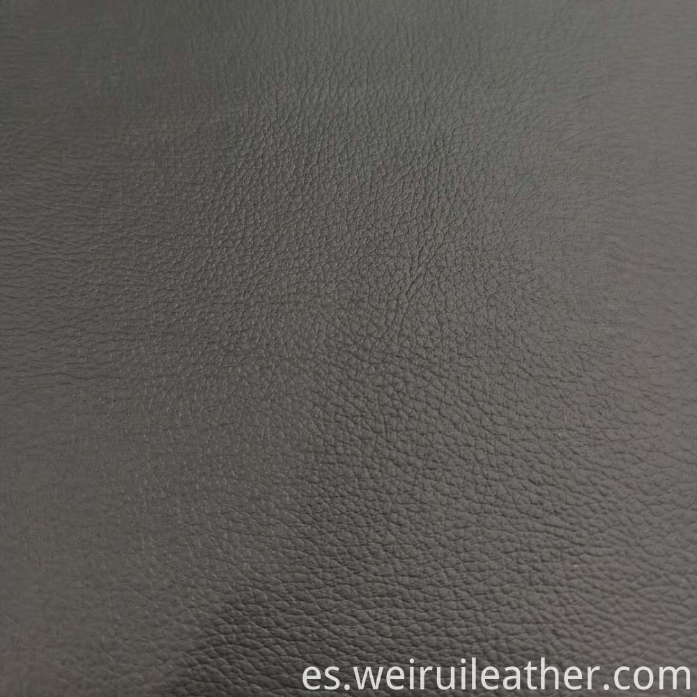 Aboslute Black Pvc Leather