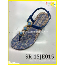 2015 New fashion FSandal insock with printing Shoes