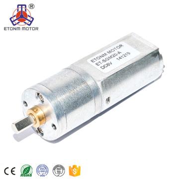 24v 20mm caliente acogió el motor del engranaje de la CC