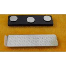 Emblemas de nome magnético plástico ABS
