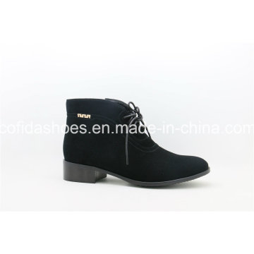 Updated Flat Leather Women Shoes/Boots