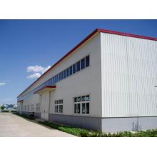 Genehmigte vorfabrizierte Stahlrahmen-Werkstatt