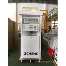 Buse à pompe unique Zcheng White Color Filling Station