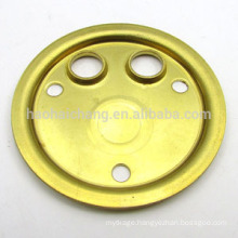 Heating element adapter flange with ISO quality assurance
