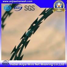 Горячая оцинкованная железная проволока для ограждения с SGS