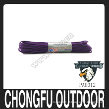 Alta qualidade Nylon 550 Paracord Rainbow Paracord 7 Core