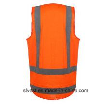 Светоотражающий защитный жилет Hot Fashion с высокой видимостью и карманом для удостоверения личности