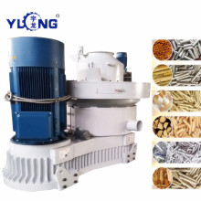 Máquina de pellets de madera con sistema de refrigeración por aire