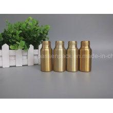 Golden Kosmetik Aluminium Verpackung Flasche für Parfüm Verpackung (PPC-ACB-057)