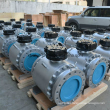 API 6D Flanged Forged Steel Fixed Ball Valve